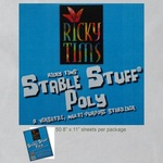 RICKY TIMs STABLE STUFF  .... used for paper piecing, bobbin work and marking a quilt.