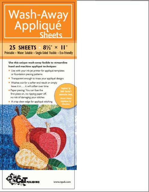 BETH FERRIER WASH AWAY APPLIQUE FREEZER PAPER... great for other techniques too.