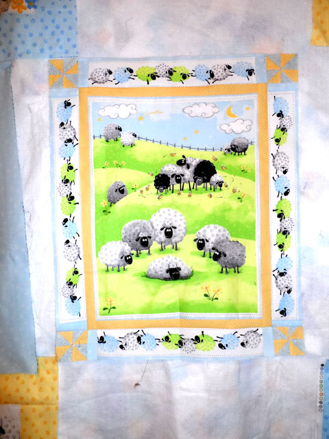 Baby Quilt for Tom and Kristen